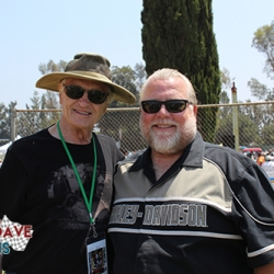 21 Dave with Brad Boyle Steve Mc Queen Car Show.JPG